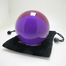 Myth Clear Purple Translucent Acrylic contact Juggling ball 70mm 220g + Pouch