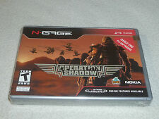 NEW SEALED NGAGE VIDEO GAME OPERATION SHADOW NOKIA TORUS GAMES 2004 NFS