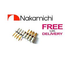 8x qualità Nakamichi Altoparlante connettore a banana 24k placcato oro UK