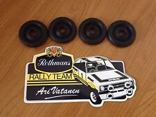 Ford Mk2 Mk11 RS2000 Escort Headlight Nosecone Wiring Grommets GRP4 Rally