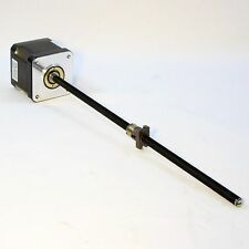 Nema 17 Stepper Motor 6mm x 215mm Leadscrew, anti backlash nut and cables