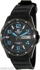Casio EF132PB-1A2 Mens Edifice Stainless Steel Dress Watch 100M NEW Analog