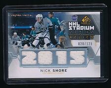 NICK SHORE 2015-16 SP GAME USED STADIUM SERIES JERSEY 020/125 LOS ANGELES KINGS