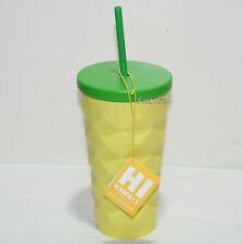 2016 Starbucks HAWAII 16OZ Metal PINEAPPLE GRANDE TUMBLER COLD DRINK TO GO CUP