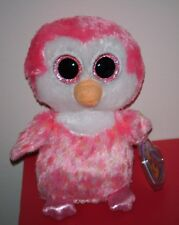 Ty Beanie Boos ~ CHILLZ the Penguin ~ (Original Purple Tag) MINT with MINT TAGS