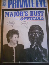 PRIVATE EYE MAGAZINE NUMBER 825 JU;Y 93 JOHN MAJOR'S BUST OFFICIAL NORMA