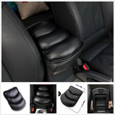 Black Car SUV Armrest Arm Rest Console Cover Seat Box Pad PU Mat For Modern KIA