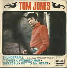 TOM JONES (DE LA PELICULA OPERACION TRUENO)-THUNDERBALL IT TAKES A WORRIED MAN +