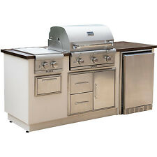 Saber Stainless Copper Vein Outdoor Kitchen I50LK2315 Gas Propane Grill NEW!