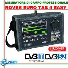 MISURATORE DI CAMPO ROVER TAB 4 EASY 2016 DVB-T/C/S2/HD/MPEG4 RANGE 44-2150MHz