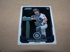 SEATTLE MARINERS JESUS MONTERO 2012 BOWMAN CHROME #30 ROOKIE CARD RC