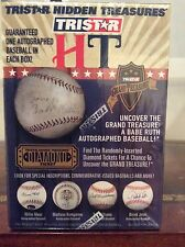 TriStar Hidden Treasures Autographed Baseball Series 7 WIN A BABE RUTH BALL