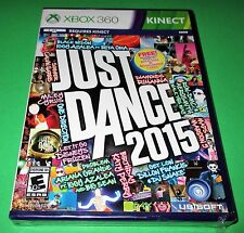 Just Dance 2015 Microsoft Xbox 360 *Factory Sealed! *Free Shipping!