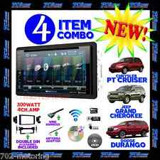 06 07 08 09 10 PT CRUISER DURANGO GRAND CHEROKEE DVD BLUETOOTH USB CAR STEREO