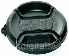 Front Lens Cap Cover For Canon Powershot SX10 IS with Holder Keeper Cord String