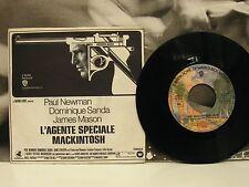 "MAURICE JARRE - L'AGENTE SPECIALE MACKINTOSH - COLONNA SONORA 45 GIRI 7"" OST"