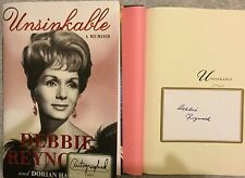 SIGNED  DEBBIE REYNOLDS UNSINKABLE HCDJ 1st/1st CARRIE FISHER'S MOM