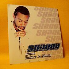 Cardsleeve Single CD Shaggy Ft Prince Mydas Hope Dance & Shout 2TR 2001 Pop Rap