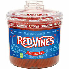 Red Vines Original Red Licorice 5.5lbs BRAND NEW SEALED FREE SHIPPING