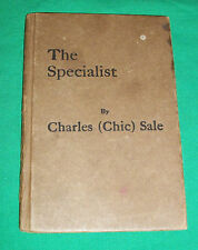 1929 CHARLES CHIC SALE VAUDEVILLE ACTOR SPECIALIST BOOK OUTHOUSE TOILET HUMOR
