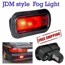 Honda JDM Style Civic Acura Accord Rear Bumper Red Fog Brake Light Lamp EK9 EG6