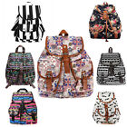 Vintage Women Girl's Fashion Canvas Travel Backpack School Bag Satchel Rucksack