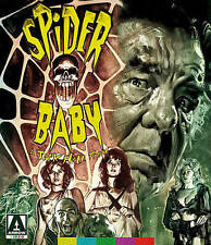 SPIDER BABY (1967) Blu-ray REGION 1+2! Lon Chaney Jr. CULT Horror Rare*HALLOWEEN