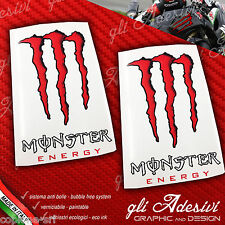 2 Adesivi Drink Energy Red Rosso Sticker BIG
