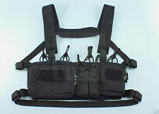 MBC russe D3CR-H lourd tactique Chest Rig (Noir)