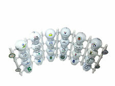 Flex Rack Modular 24 Golf Ball Display Wall Desktop Made in USA Shelf Case WHITE