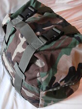 Military Army Molle II Sleeping Bag Carrier Pack Stuff Sack Woodland Camouflage