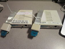2x Wind River Vision ICE II Debugger With PowerPC JTAG  BDM Cable WindRiver