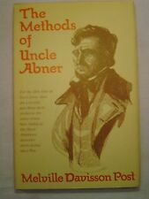Melville Davisson Post THE METHODS OF UNCLE ABNER first edition 1974
