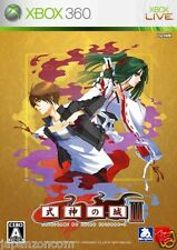 Used Xbox 360 Shikigami No Shiro III  JAPAN JP JAPANESE JAPONAIS IMPORT