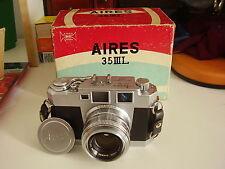 Appareil photo télémétrique vintage AIRES 35 III L années 50 RARE !