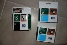 Lot of 6 HP 10 ink cartridge ~ new in box GENUINE Colors and Black
