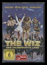 DVD THE WIZ - DAS ZAUBERHAFTE LAND - MICHAEL JACKSON + DIANA ROSS *** NEU ***