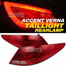 LED Surface Emitting Tail Light Rear Lamp For HYUNDAI 2011-17 Accent Verna Sedan