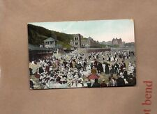 Edwardian card Childrens Corner South Sand Scarborough posted 1907 art