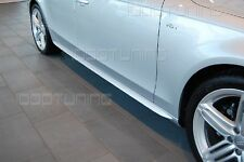 Audi A6 C6 4F side skirts To render sidebars S-line Swell S6 RS6