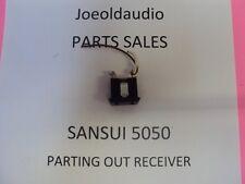 Sansui 5050/6060 Original AC Outlet. Parting Out 5050/6060 Receivers
