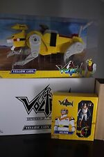 HUNK & YELLOW LION Force VOLTRON CLASSICS Matty Collector Club Figure SEALED NEW