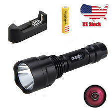 1200LM IR 850nm OSRAM 5W Flashlight Infrared Red LED Night Vision Torch Light US