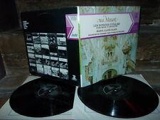 MOZART: Church sonatas   M-C Alain organ Paillard / Erato France stereo 2 LPs