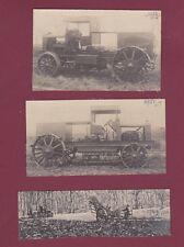 PHOTOS - 080814 - CAMION DE DION BOUTON vers 1910 - TREUIL DE LABOURAGE