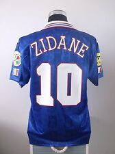 Zinedine ZIDANE #10 France Home Football Shirt Jersey EURO 96 1996 (L)