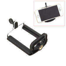 Black Universal Stand Tripod Holder Mount For iPhone 6S 5S Galaxy S7 S6 Note 5 4