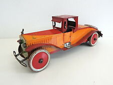 "1920's Vintage Antique Marx Stutz Bearcat Tin Wind Up 16"" Toy Car - VERY RARE!"