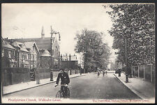 London Postcard - Presbyterian Church, Willesden Green DD233