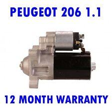 PEUGEOT 206 1.1 1.4 1.6 1998 1999 2000 2001 2002 2003 - 2015 RMFD STARTER MOTOR
